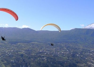 Paragliding and Paramotor